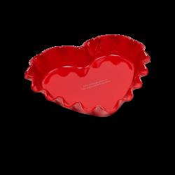 Ruffled Heart Dish