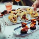 3 Appetizer Platters Set